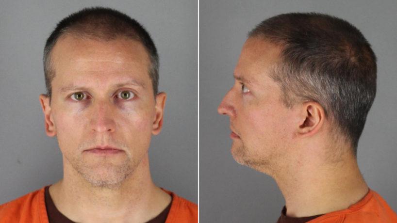 Mugshots of former police officer Derek Chauvin.