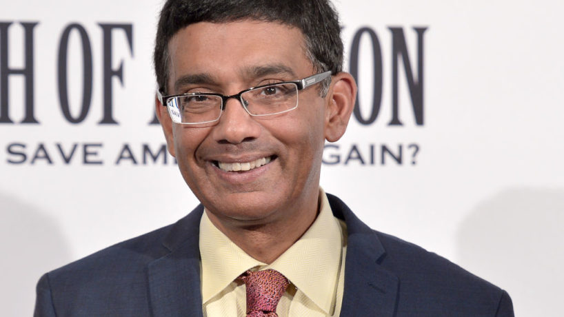 """Dinesh D'Souza attends the DC premiere of his film, """"Death of a Nation,"""" at E Street Cinema on August 1, 2018 in Washington, DC. (Photo by Shannon Finney/Getty Images)"""