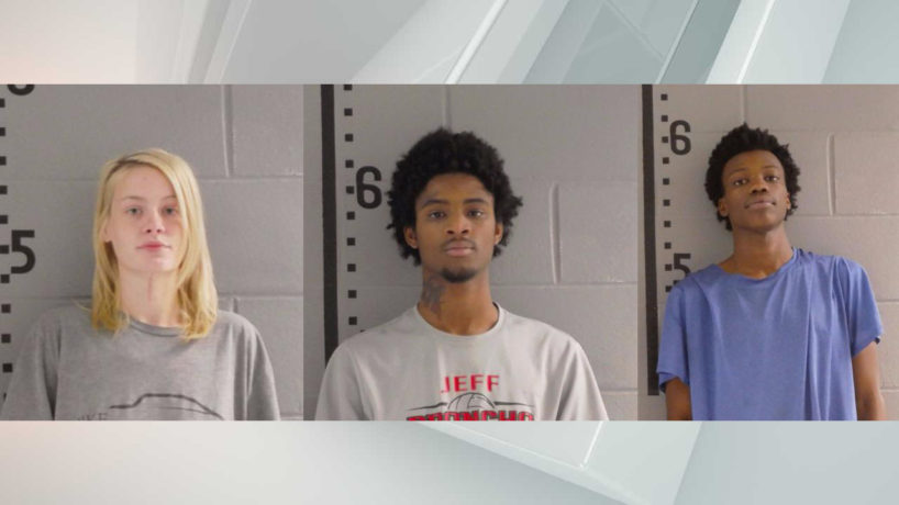 Three suspects in the White County murder of two brothers.