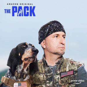 """Dixie The Praying Dog & Brian Calvert compete in Amazon Prime Series """"The Pack"""""""