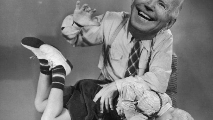 Joe Biden Spanks a Little Boy.