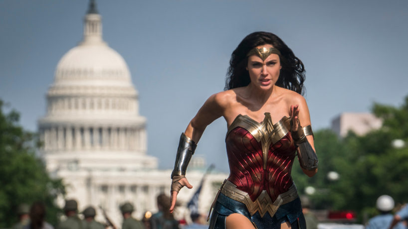 A still from the film Wonder Woman: 1984.