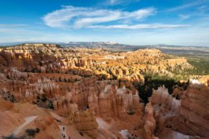 Bryce Canyon National Park, Utah, USA. The Amphitheater viewed from Sunset Point. (Photo by: Andia/Universal Images Group via Getty Images)