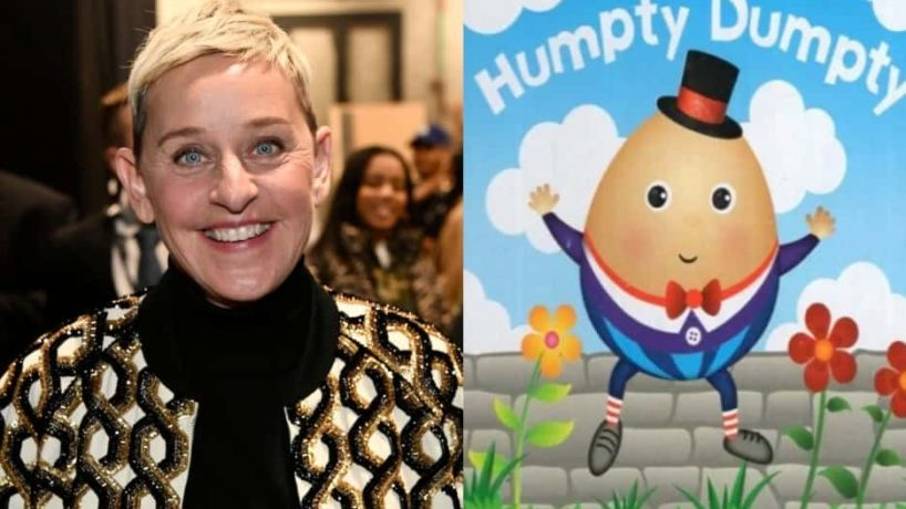 Ellen DeGeneres Featured with Humpty Dumpty