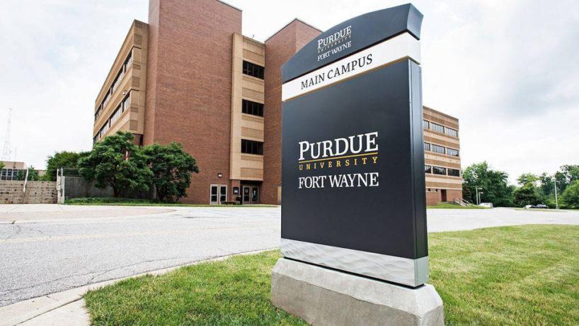 Purdue-Fort Wayne sign