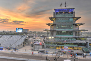 The Pagoda at Indianapolis Motor Speedway.