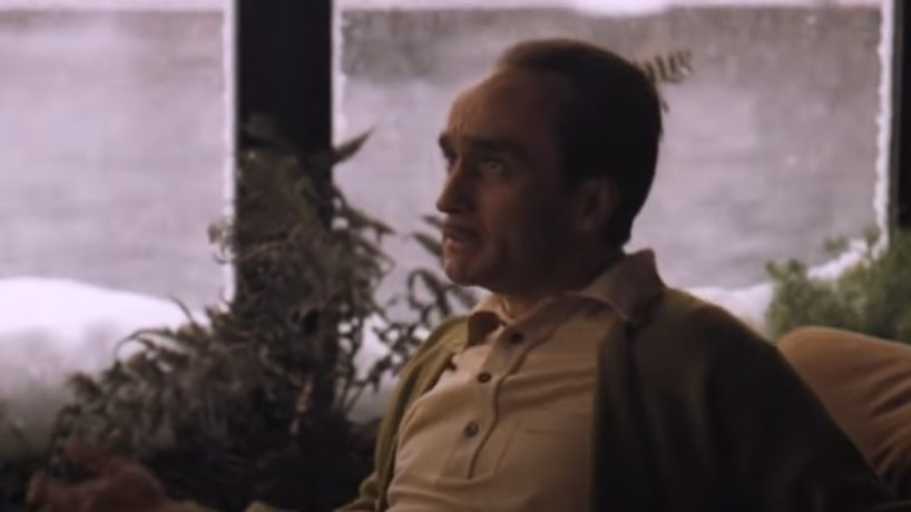 "John Cazale appears in a scene from ""The Godfather, Part 2."""