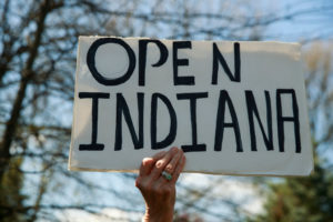Open Indiana Sign