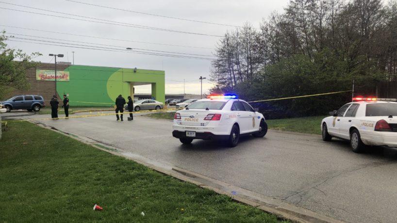 police cars at Skateland