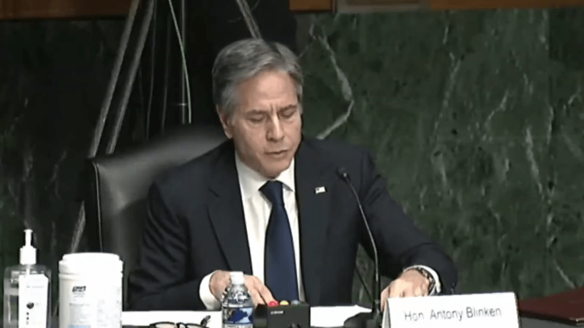 Secretary of State Anthony Blinken testifies about Iran nuclear deal.