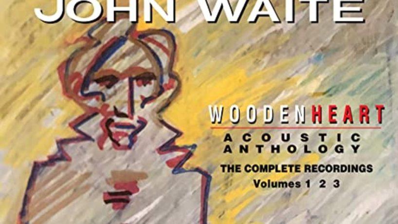 """The album cover for John Waite's """"Wooden Heart"""""""