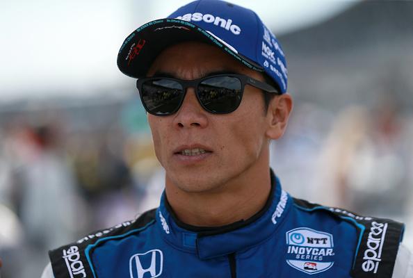 A photo of Indycar driver Takuma Sato