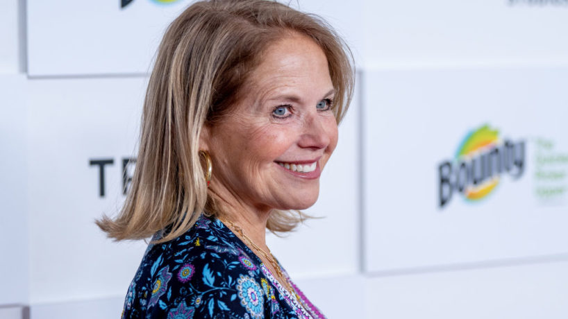 """Katie Couric attends the """"Turning Tables: Cooking, Serving, and Surviving In A Global Pandemic"""" premiere during the 2021 Tribeca Festival at Brookfield Place on June 18, 2021 in New York City. (Photo by Roy Rochlin/Getty Images)"""