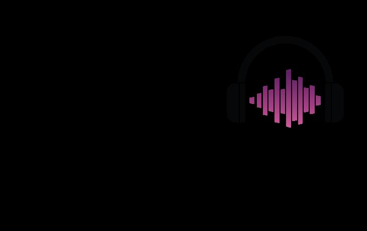 Sean Copeland name with headphone graphic