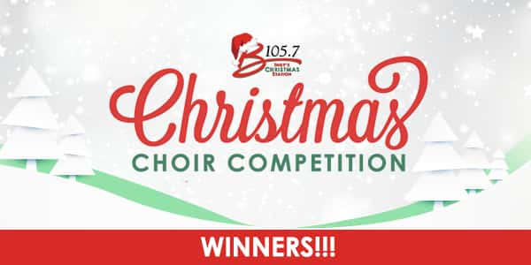 Christmas Choir Competition winners