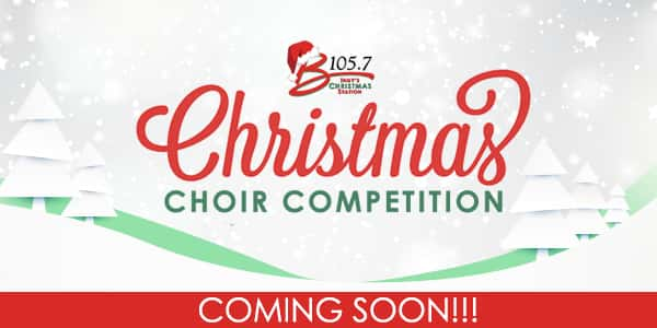 B105.7's 2019 Christmas Choir Coming Soon