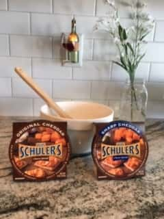 2 Win Schuler's Cheese Spreads and a bowl