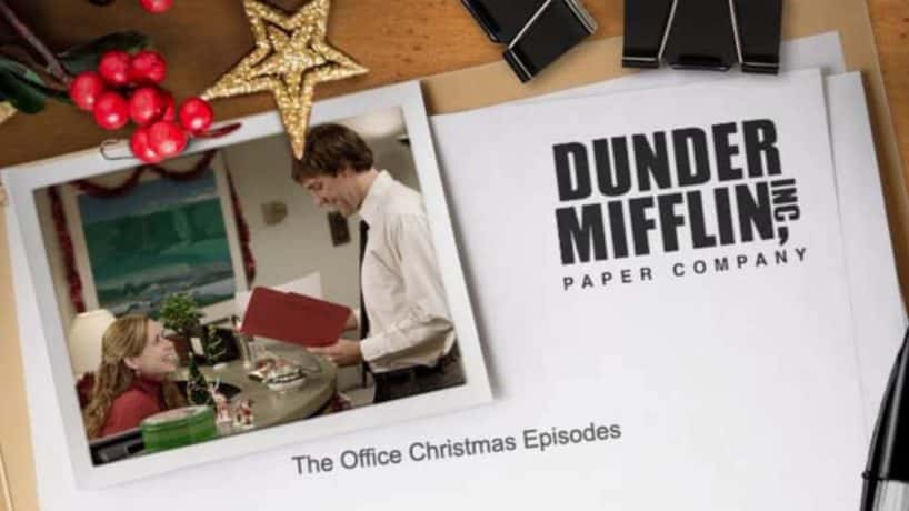 The Office Christmas episode list.