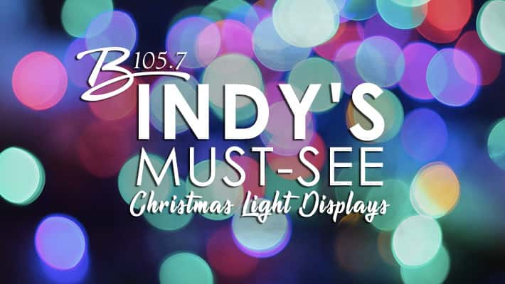 B's Indy's Must-See Christmas Light Displays