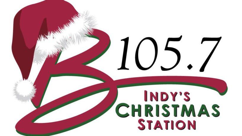 B105.7 Christmas Logo