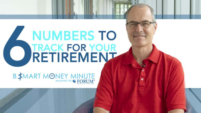 6 Numbers to track for retirement, man smiling