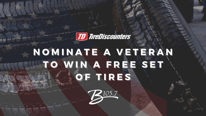 Nominate a Veteran to Win a Free Set of Tires