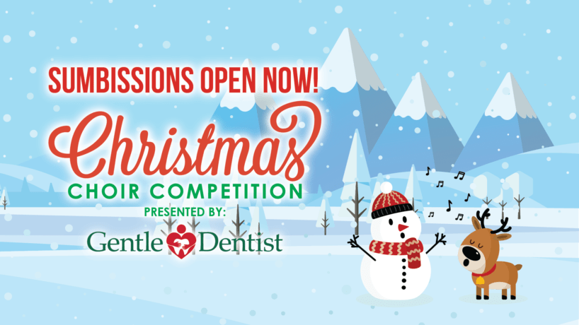 2021 Christmas Choir Submissions Open now!