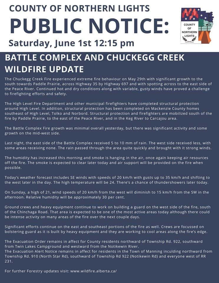 Wildfire Updates   River Country