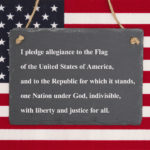 pledge image flag