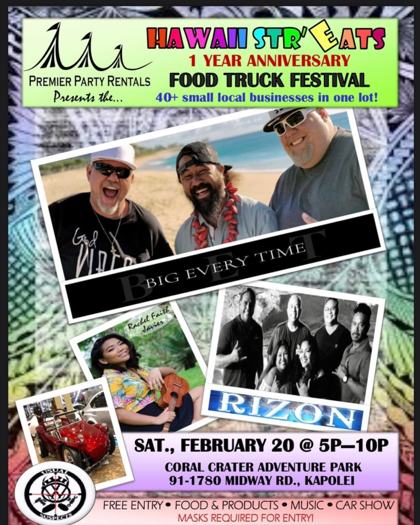 Hawaii Str'Eats Food Truck Festival