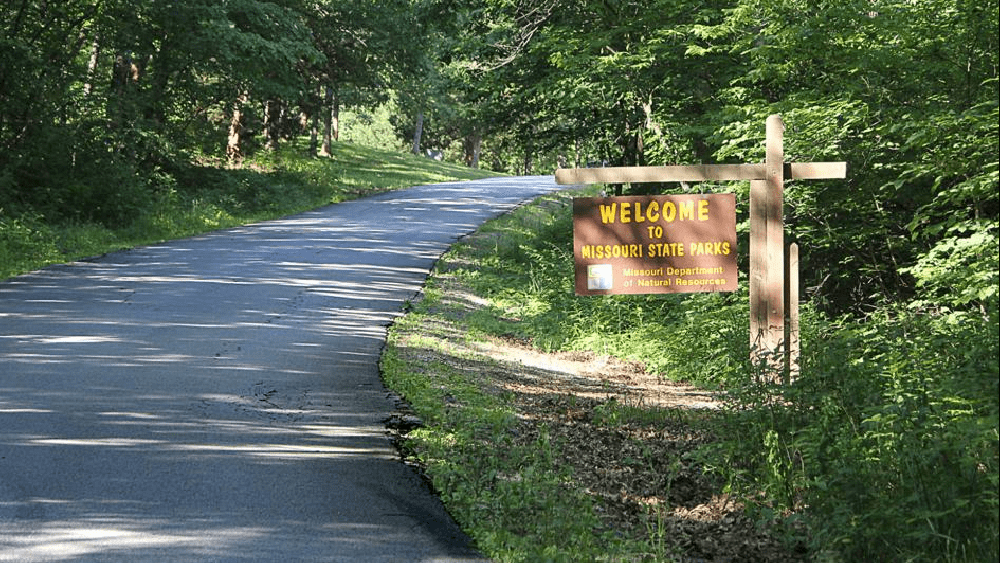 MISSOURI STATE PARKS ENCOURAGING PARK VISITORS TO LEAVE NO TRACE WHEN VISITING PARKS