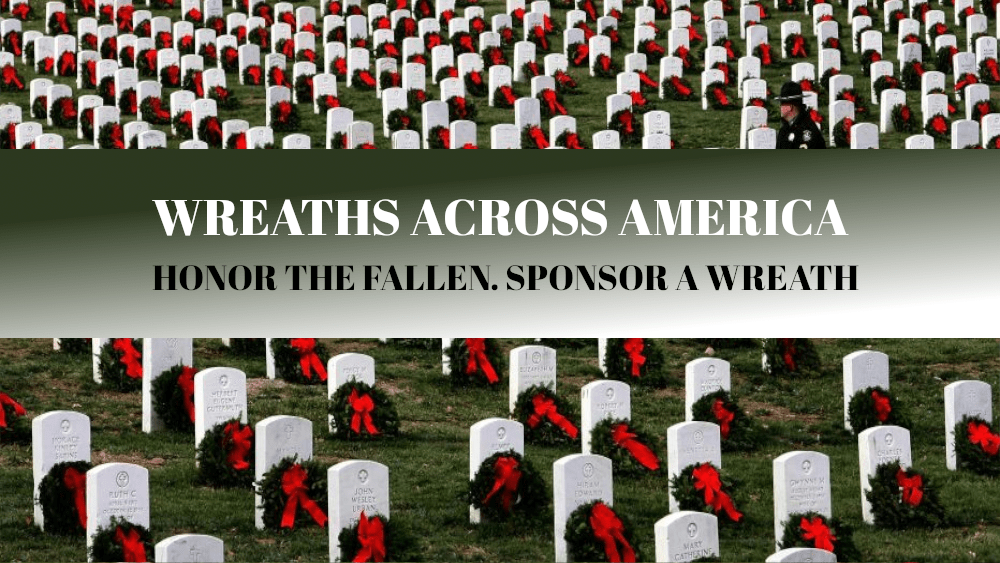 WREATHS ACROSS AMERICA IS ON THE ROAD AGAIN WITH THE ANNUAL ESCORT OF WREATHS AND VIRTUAL CONVOY