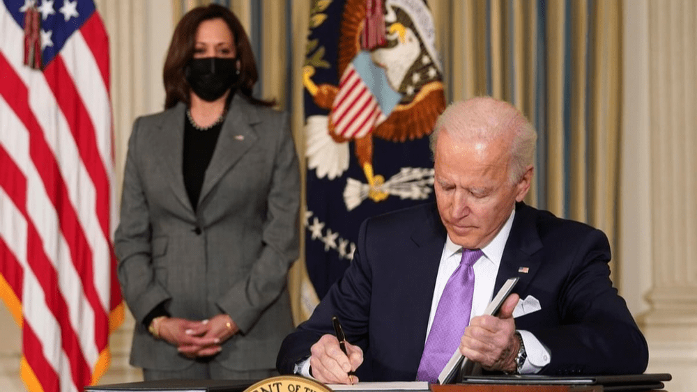 President Biden signs executive order expanding voting rights