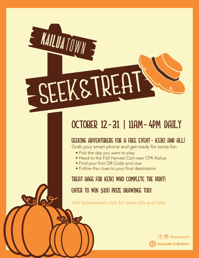 Kailua Town Seek & Treat – Free Halloween Event
