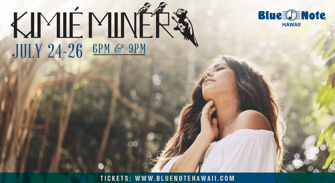 Kimié Miner at Blue Note Hawaii