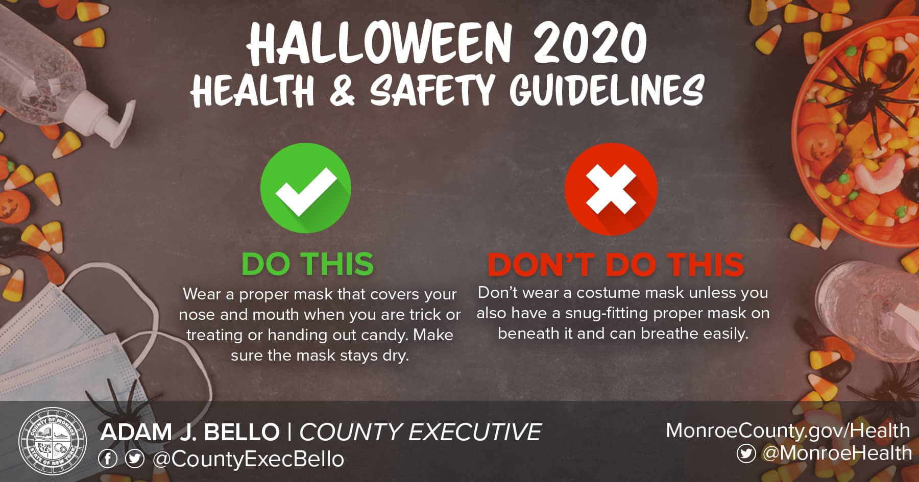 Halloween Rochester Ny 2020 Monroe County's Halloween 2020 health and safety guidelines for