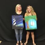 Carole-and-Ginyah: Carole and Ginyah show off their portraits.