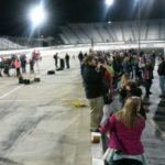 17519584: Racing Fans Under Lights