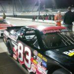 17519585: Matt Bowling, Peyton Sellars, and racing legend Leonard Wood