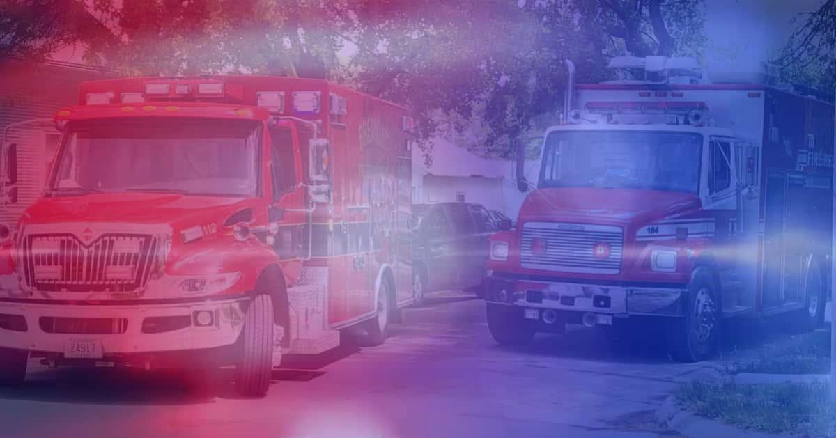 ambulance fire firetruck