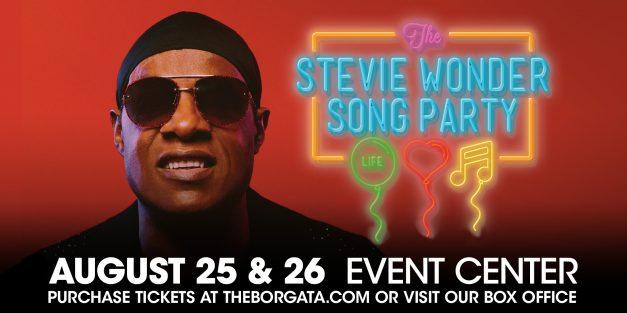 Stevie Wonder @ Borgata August 25th & 26th