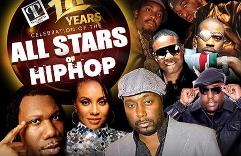 All-Stars of Hip Hop @ Boardwalk Hall 01/19