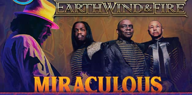 Santana with Earth Wind and Fire @ BB&T Pavilion 8/20
