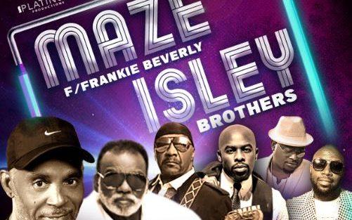 Maze w/ Frankie Beverly & The Isley Bros.