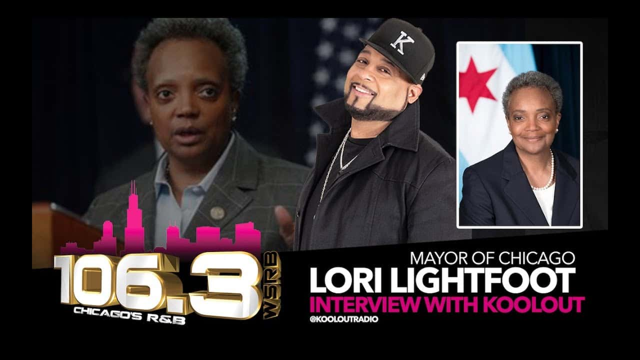 The-Mayor-of-the-city-of-Chicago-Lori-Lightfoot-and-Koolout-from-Soul-106-3-Fm