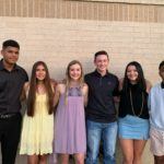 120033876_329625631796251_352157405820453434_n: Early Homecoming King and Queen Nominees Marcus Morelan, Dey DeLeon, Reagan Kirby, Hayden Gregory, Alexa Portillo, Josh DeLaTorre {Photo courtesy of Hope Bearden}