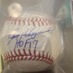 Ivan Rodriguez Hall of Fame 2017 Autographed Ball