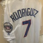 Ivan Rodriguez Hall of Fame Autographed Jersey