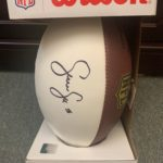 Sean Lee Autographed Football