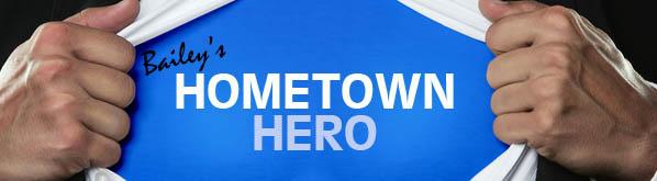 hometown hero small banner